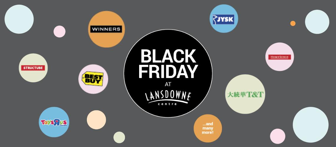 Black Friday at Lansdowne Centre